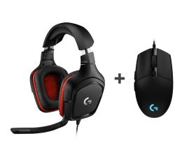 Słuchawki przewodowe Logitech G332 + G102