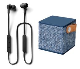 Słuchawki bezprzewodowe Jays t-Four Wireless+Fresh N Rebel Rockbox Cube Fabriq