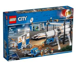 Klocki LEGO® LEGO City Transport i montaż rakiety