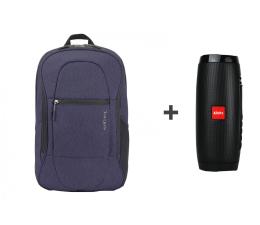 """Plecak na laptopa Targus Urban Commuter 15.6"""" niebieski + Xblitz Fun"""