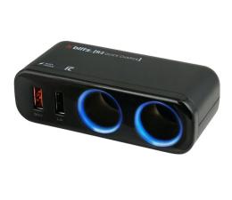 Ładowarka do smartfonów Xblitz Rozdzielacz samochodowy R2 Quick Charge 2xUSB