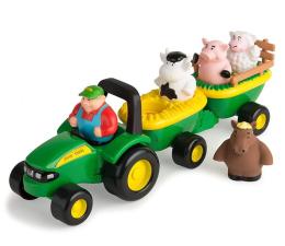 Pojazd / tor i garaż TOMY Johny Traktor wesoła zabawa ze zwierzątkami