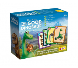 Gra karciana Lisciani Giochi Disney karty do gry Dobry Dinozaur