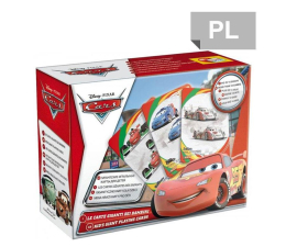 Gra karciana Lisciani Giochi Disney Karty do gry CARS 2