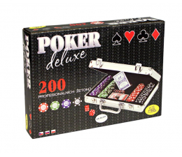 Gra karciana Albi Poker Deluxe 200 żetonów