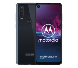 Smartfon / Telefon Motorola One Action 4/128GB Dual SIM granatowy + etui