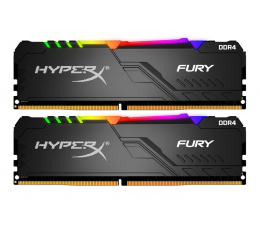 Pamięć RAM DDR4 HyperX 32GB (2x16GB) 3733MHz CL19 Fury RGB