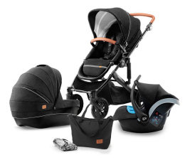 Wózek spacerowy Kinderkraft Prime 3w1 Black