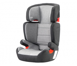 Fotelik 15-36 kg Kinderkraft Junior Fix z systemem ISOFIX Black/Grey