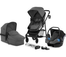 Wózek dziecięcy wielofunkcyjny Kinderkraft Juli 3w1 Grey