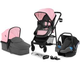 Wózek dziecięcy wielofunkcyjny Kinderkraft Juli 3w1 Pink