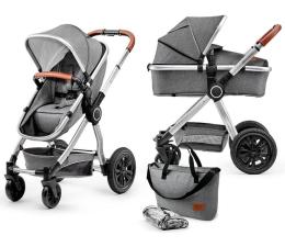 Wózek dziecięcy wielofunkcyjny Kinderkraft Veo 2w1 Gray
