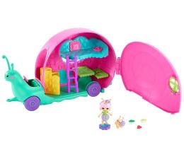Lalka i akcesoria Mattel Enchantimals Wonderwood Kamper ślimaków Zestaw