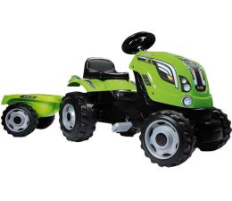 Jeździk/chodzik dla dziecka Smoby Traktor na pedały XL z przyczepą zielony