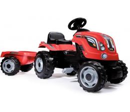 Jeździk/chodzik dla dziecka Smoby Traktor XL czerwony