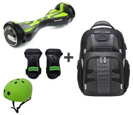 Deskorolka elektryczna Kawasaki KX-PRO 6.5D  ochraniacze i kask + Plecak Targus