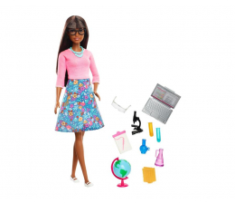Lalka i akcesoria Barbie Nauczycielka Lalka + akcesoria