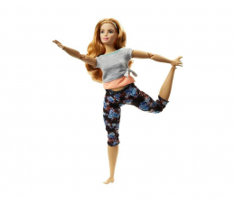 Lalka i akcesoria Barbie Made To Move Kwiecista Lalka Truskawka