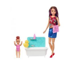 Lalka i akcesoria Barbie Skipper Zestaw Opiekunka z wanną