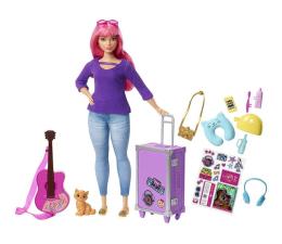 Lalka i akcesoria Barbie Lalka Daisy w podróży