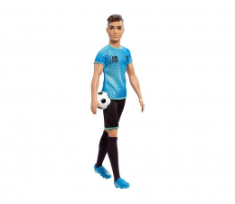 Lalka i akcesoria Barbie Ken Kariera Piłkarz