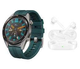 Smartwatch Huawei Watch GT Active zielony + FreeBuds Lite