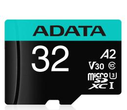 Karta pamięci microSD ADATA 32GB Premier Pro U3 V30S A2 + adapter