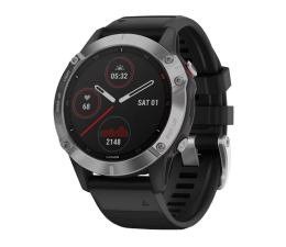 Zegarek sportowy Garmin Fenix 6 srebrno - czarny