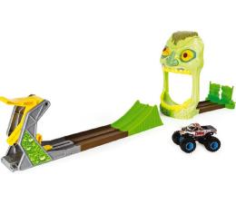 Pojazd / tor i garaż Spin Master Monster Jam Wyczynowy zestaw Zombie