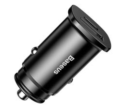 Ładowarka do smartfonów Baseus Ładowarka samochodowa QC 4.0, PD 30W (czarny)