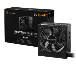 Zasilacz do komputera be quiet! System Power 9 500W CM 80 Plus Bronze