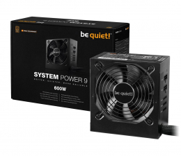 Zasilacz do komputera be quiet! System Power 9 CM 600W 80 Plus Bronze