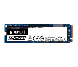 Dysk SSD Kingston 500GB M.2 PCIe NVMe A2000