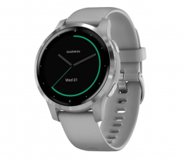 Zegarek sportowy Garmin vivoactive 4S srebrno - szary