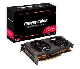 Karta graficzna AMD PowerColor Radeon RX 5700 XT Standard Version 8GB GDDR6