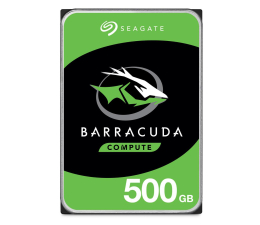 Dysk HDD Seagate 500GB 7200obr. 32MB BarraCuda