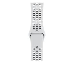 Pasek / bransoletka Apple Pasek sportowy Nike biało czarny 44 mm