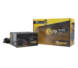 Zasilacz do komputera Seasonic Core GC 650W 80 Plus Gold