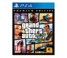 Gra na PlayStation 4 Rockstar Games Grand Theft Auto V Premium Edition PL