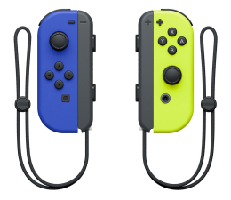 Pad Nintendo Joy-Con Controller - Blue/Neon Yellow (pair)