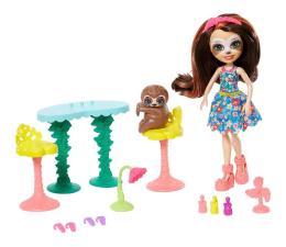 Lalka i akcesoria Mattel Enchantimals Junglewood Strefa relaksu+ Leniwiec