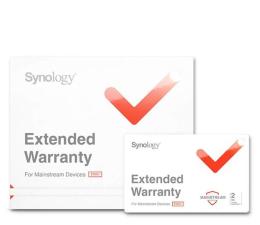 Licencja / gwarancja do NAS Synology Rozszerzenie Gwarancji EW202
