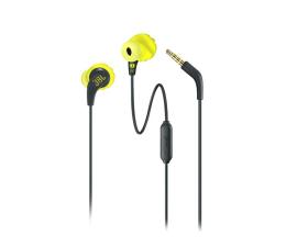 Słuchawki przewodowe JBL Endurance RUN Czarno-zielone