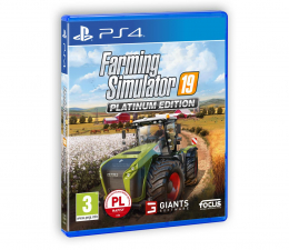 Gra na PlayStation 4 GIANTS Software Farming Simulator 19