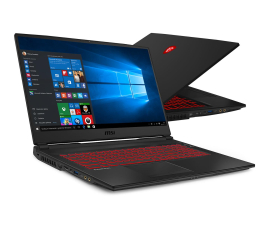 "Notebook / Laptop 17,3"" MSI GL75 i7-10750H/32GB/512+1TB/Win10X GTX1660Ti 144Hz"