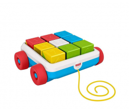 Zabawka dla małych dzieci Fisher-Price Klocki aktywizujące do ciągnięcia