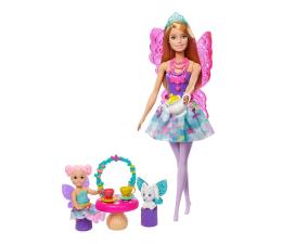 Lalka i akcesoria Barbie Dreamtopia Baśniowe przedszkole Podwieczorek