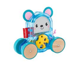 Zabawka dla małych dzieci Fisher-Price Kolorowe zwierzątka Pojazd Myszka