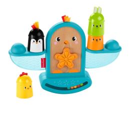 Zabawka dla małych dzieci Fisher-Price Kolorowe zwierzątka Ptaszek Kiwaczek-układaczek