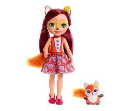 Lalka i akcesoria Mattel Enchantimals Duża lalka Felicity Fox i Flick 31 cm